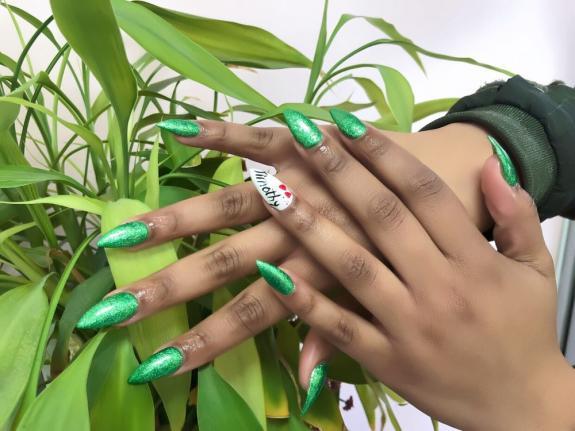 Manicure at Nail Envy